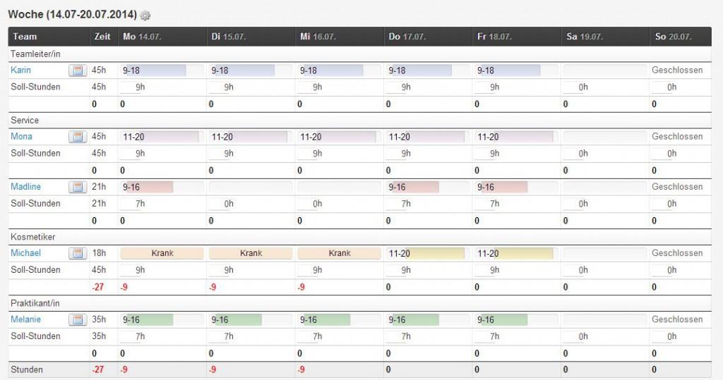 3 Soll-ist-Planung_Woche Krank